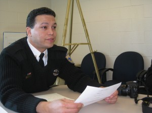 Captain Daniel Castro is the new leader of the 24th District