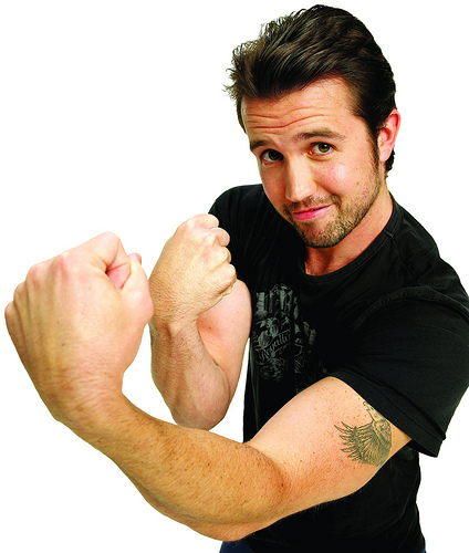 "Exclusive  interview with Rob McElhenny of ""It's Always Sunny in Philadelphia"""