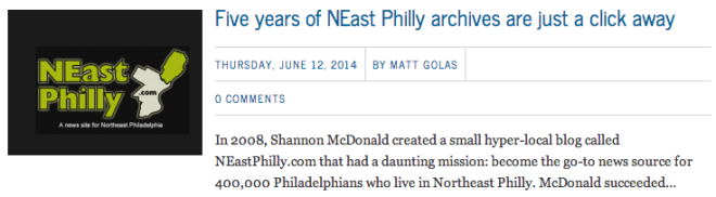 neast philly on planphilly
